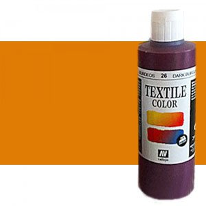totenart-Pintura Textil Vallejo Siena, 200 ml.
