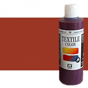 totenart-Pintura Textil Vallejo Sanguina, 200 ml.