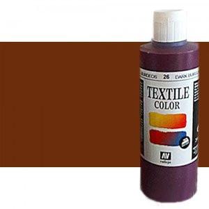 totenart-Pintura Textil Vallejo Tabaco, 200 ml.