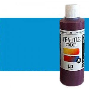 totenart-Pintura Textil Vallejo Azul Metal, 200 ml.