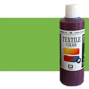 totenart-Pintura Textil Verde Manzana, 200 ml.