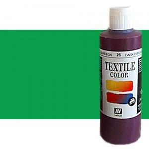 totenart-Pintura Textil Vallejo Turquesa Metal, 200 ml.