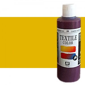 totenart-Pintura Textil Vallejo Oro Metal, 200 ml.