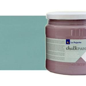 totenart-Pintura tiza Verde hielo La Pajarita (500 ml.)