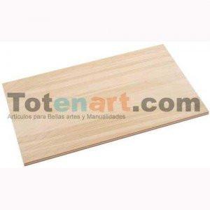 totenart-Plancha Contrachapado 5 mm., 61x50 cm.  - PROMOCION CURSO BBAA 25