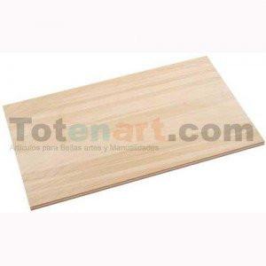totenart-Plancha Contrachapado 15x20 cm., 1cm.