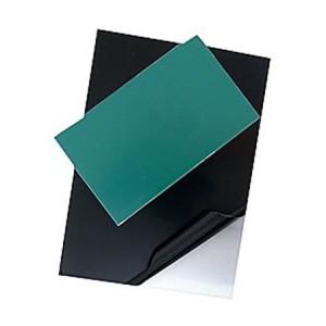 totenart-Plancha de Zinc Pulida protegida y esmaltada, 50x33.3 (1,6)
