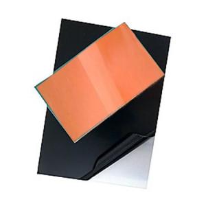 totenart-Plancha de Zinc Pulida EXTRA protegida y esmaltada, 50x50 (1,6)