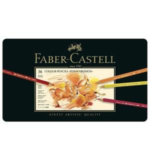 totenart-Estuche de Lápices color POLYCHROMO, Faber Castell (36 colores)