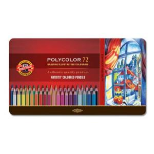 totenart-Estuche de 72 lápices de color Polycolor Koh-i-Noor