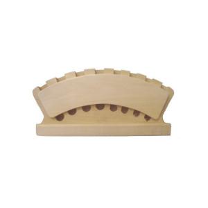totenart-Portapinceles EXPOSITOR madera para 8 pinceles