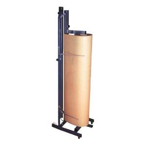 Porta bobinas vertical profesional con sistema de corte