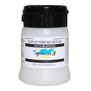 totenart-Medium SERIGRAFIA System 3 Acrylic Printing Medium (250 ml.)