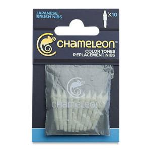 Totenart. 10 Puntas Pincel recambio para rotulador Chameleon