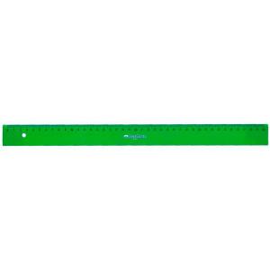 Regla graduada ESCOLAR - 240 - canto biselado 40 cm. verde Faber Castell