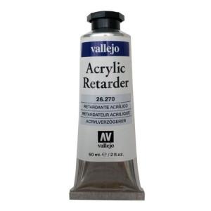 Medium acrilico Retardante Vallejo, 58 ml.