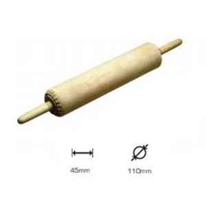 Rodillo Litografia Artools cuero manoplas 45 cm. lgt. 110 mm. d