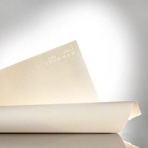 Rollo papel grabado Arches BFK Rives 300 gr., 106,7x914 cm., Blanco, Gr. Fino