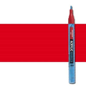 totenart-Rotulador acrilico Amsterdam color Rojo Pyrrol 315 (2 mm.)