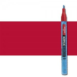 totenart-Rotulador acrilico Amsterdam color Carmin 318 (2 mm.)