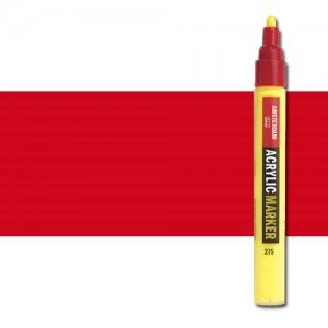 totenart-Rotulador acrilico Amsterdam color rojo naftol oscuro 399 (4 mm.)