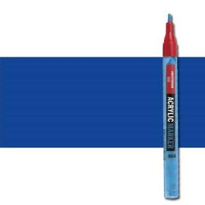 totenart-Rotulador acrilico Amsterdam color Azul Ultramar 504 (2 mm.)