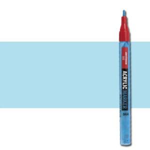 totenart-Rotulador acrilico Amsterdam color Azul Celeste Claro 551 (2 mm.)