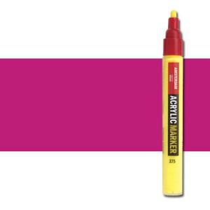 totenart-Rotulador acrilico Amsterdam color Violeta Rojo Permanente Claro 577 (4 mm.)