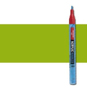 totenart-Rotulador acrilico Amsterdam color Verde Amarillento 617 (2 mm.)