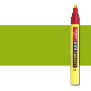 totenart-Rotulador acrilico Amsterdam color Verde Amarillento 617 (4 mm.)