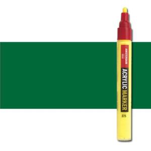 totenart-Rotulador acrilico Amsterdam color Verde Permanente Oscuro 619 (4 mm.)