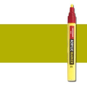 totenart-Rotulador acrilico Amsterdam color Verde Oliva Claro 621 (4 mm.)