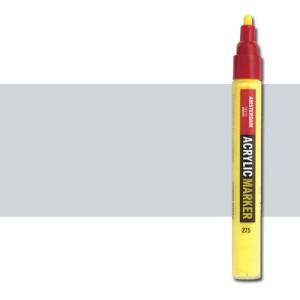 Totenart. Rotulador acrilico Amsterdam color Plata 800 (4 mm.)