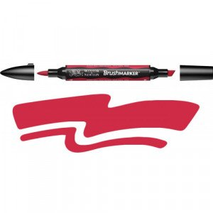 Rotulador Brushmarker Berry Red (R665) Winsor & Newton Totenart