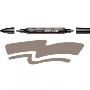 Rotulador Brushmarker Warm Grey 4 (WG4) Winsor & Newton Totenart
