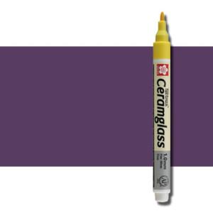 totenart-Rotulador para cerámica Ceramglass violeta 1 mm. Sakura