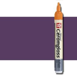 totenart-Rotulador para cerámica Ceramglass violeta 2 mm. Sakura