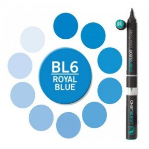 Totenart. Rotulador Chameleon Azul Royal Blue BL6