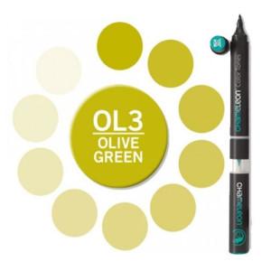 Totenart. Rotulador Chameleon Verde Oliva OL3