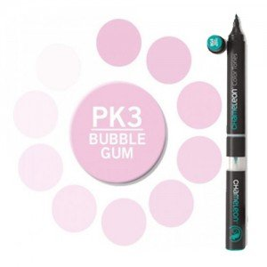 Totenart. Rotulador Chameleon Rosa Bubble Gum PK3