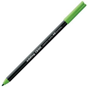 Totenart-Rotulador Edding 1300 Verde Hoja 48, punta fina 2 mm.
