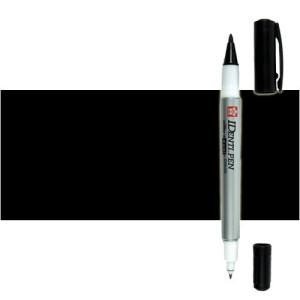 Totenart. Rotulador IDenti pen Sakura Negro 2 puntas