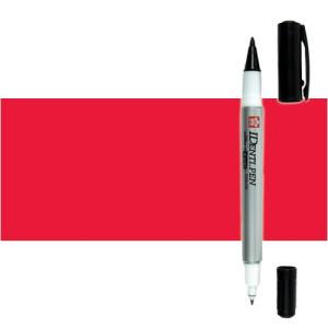 Totenart. Rotulador IDenti pen Sakura Rojo 2 puntas