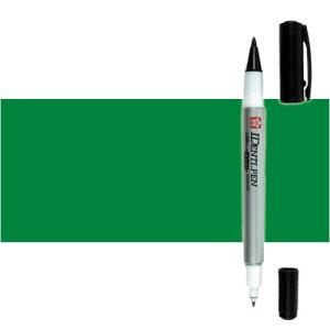 Totenart. Rotulador IDenti pen Sakura Verde 2 puntas