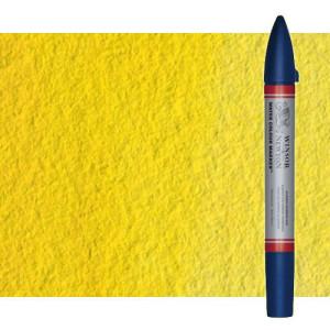 Totenart-Rotulador de acuarela tono amarillo de cadmio claro Winsor & Newton doble punta pincel