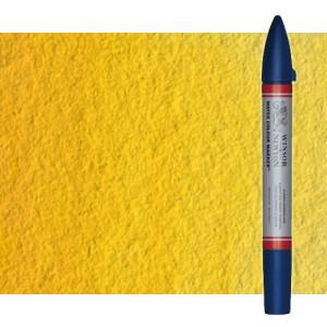 Totenart-Rotulador de acuarela tono amarillo de cadmio Winsor & Newton doble punta pincel