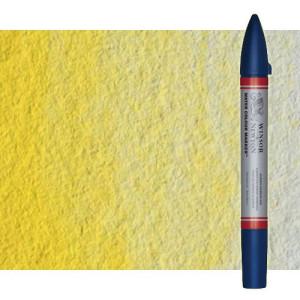 Totenart-Rotulador de acuarela tono amarillo limon Winsor & Newton doble punta pincel