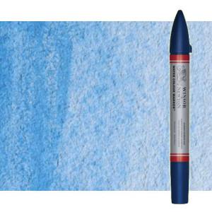 Totenart-Rotulador de acuarela azul claro (rojo) Winsor & Newton doble punta pincel