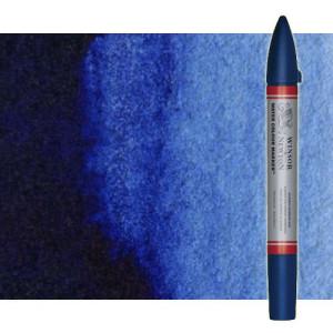 Totenart-Rotulador de acuarela tono azul de prusia Winsor & Newton doble punta pincel