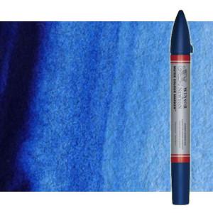 Totenart-Rotulador de acuarela azul claro (verde) Winsor & Newton doble punta pincel